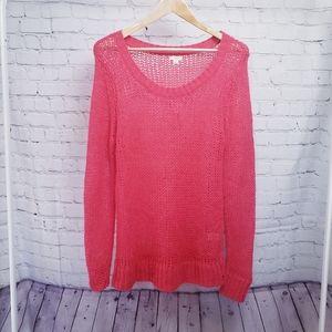 Aerie Open Weave Beach Sweater Tunic Loungewear